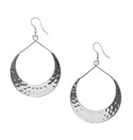 India, Lunar Crescent Earrings