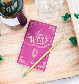 India, Wine Tasting Journal, Tree Free Paper