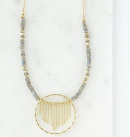 India, Gold Mist Necklace