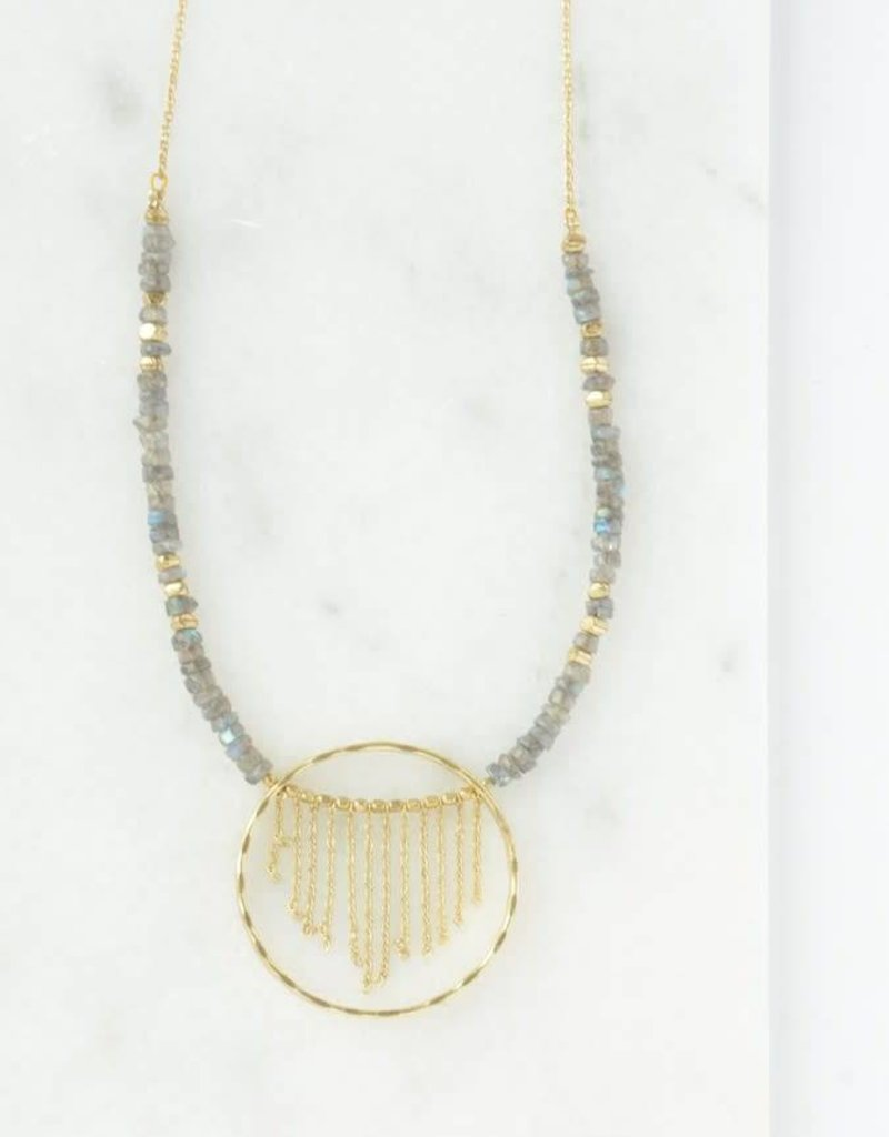 Gold Mist Necklace