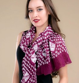 feb19 India, Risha Purple Bandana