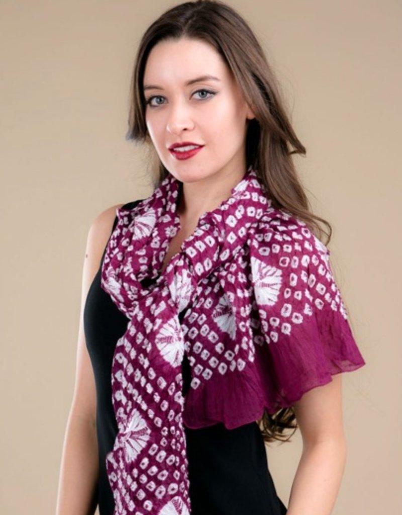 feb19 Risha Purple Bandana