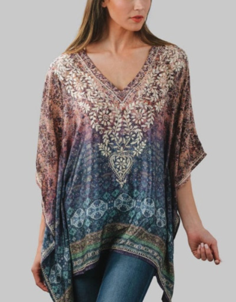 feb19 India, DEMIRA EMBROIDERED TOP