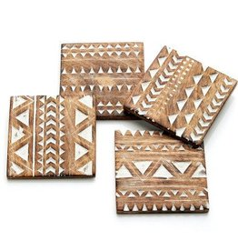 India, Mango Wood Coasters