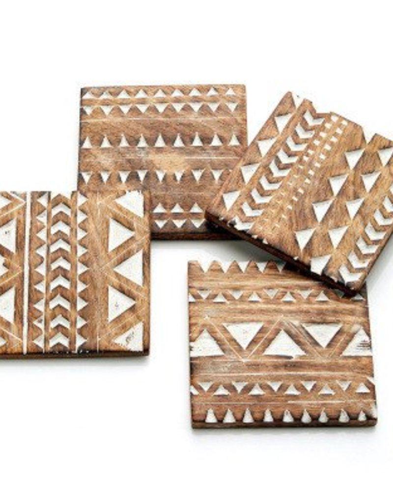 India, Mango Wood Coasters