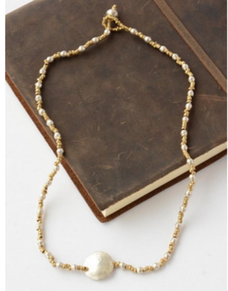 Ethiopia, Luci Bullet Casing Necklace