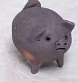 feb17 Chile, Canchito, Three Legged Clay Pig 2