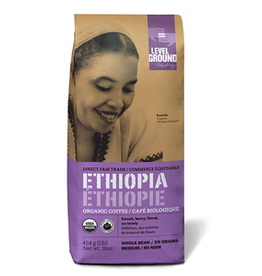 Level Ground, Ethiopian Organic Whole Ground Coffee