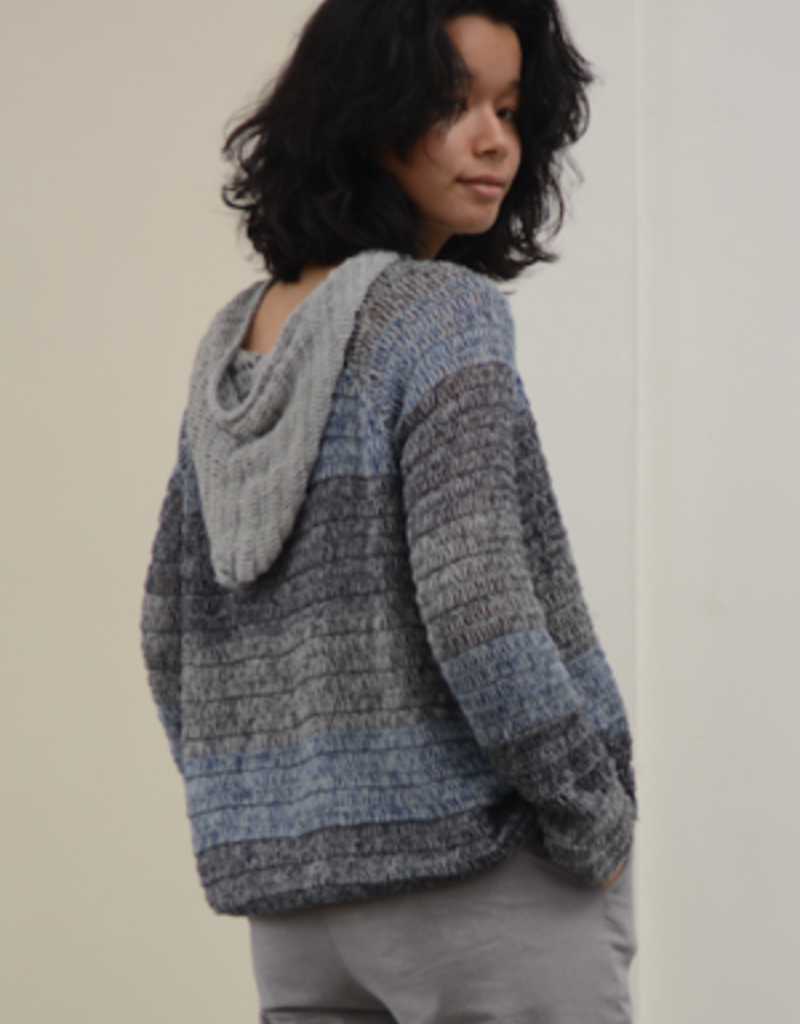 Indonesia, 100% Cotton Crocheted Hoodie