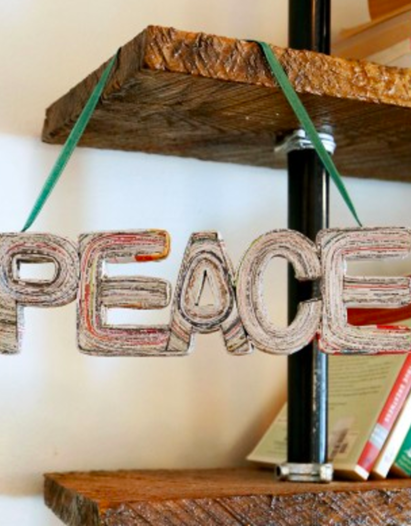 News of Peace Wall Hanging