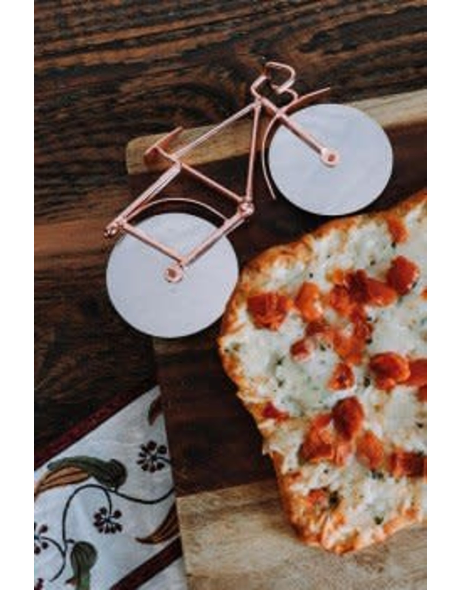 Bicycle Pizza Cutter, India