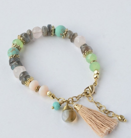 India, Playful Pastels Beaded Bracelets