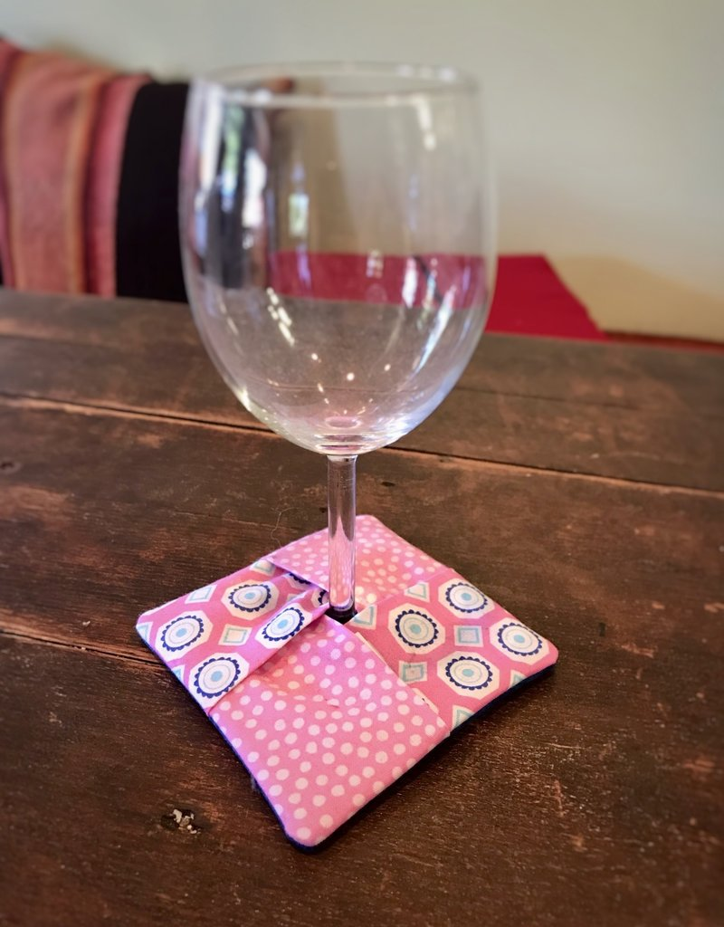 Sandy Tevlin Wine/Charm Coaster