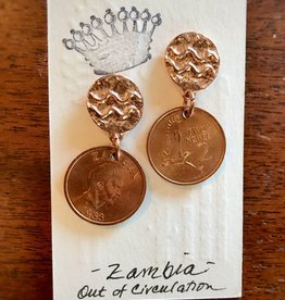 Linda Kingsley Coin Earrings