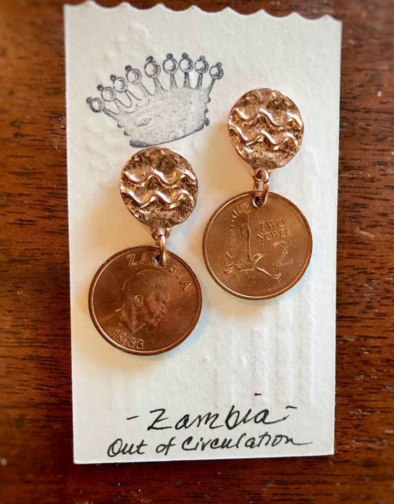 Linda Kingsley Coin Earrings