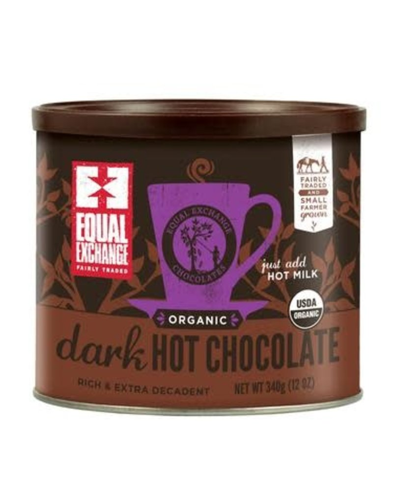 Equal Exchange Dark Hot Chocolate 12 oz