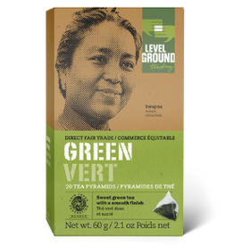 Level Ground Green Tea