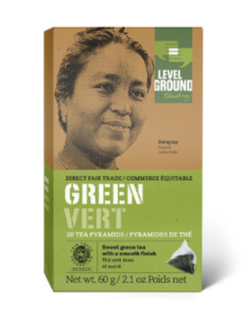 Level Ground Green Tea