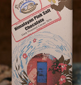 River-Sea Himalayan Pink Salt Chocolate Bar