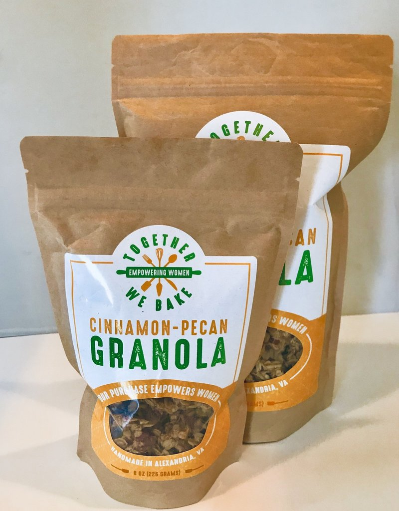 Together We Bake Cinnamon Pecan Granola
