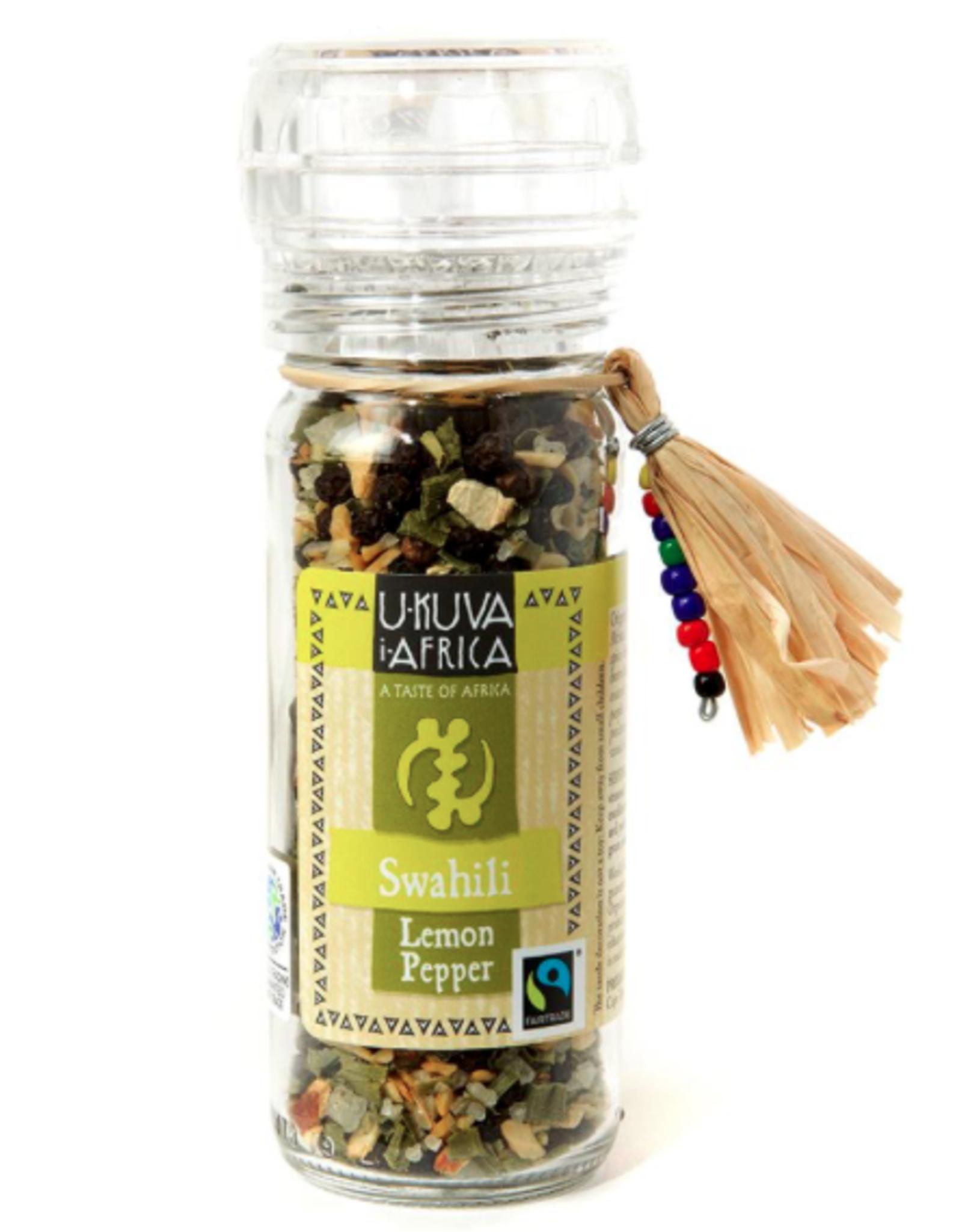 Swahili Lemon Pepper Spice Grinder