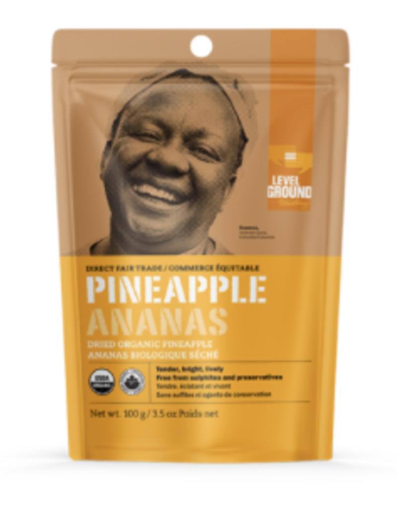 Dried Organic Pineapple