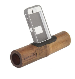 Global Groove Boozik Bamboo iPhone Amplifier