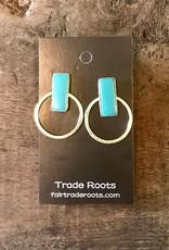 Hadley Studs Turquoise