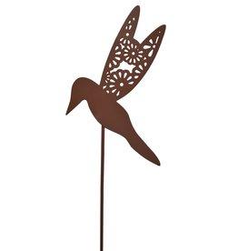 Hummingbird Garden Stake