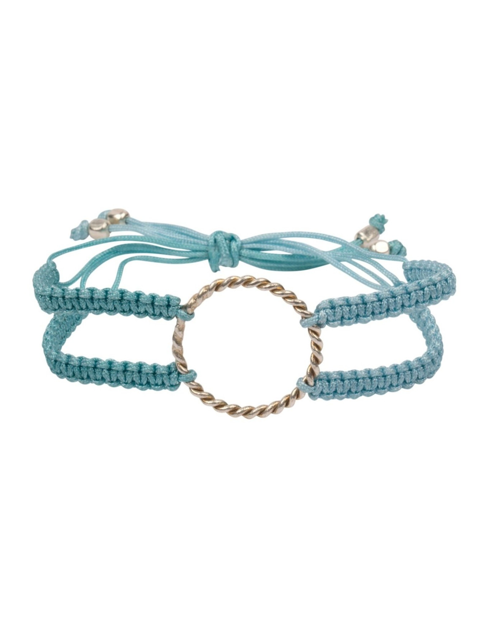 Macrame Bracelet with Ring Friends Forever
