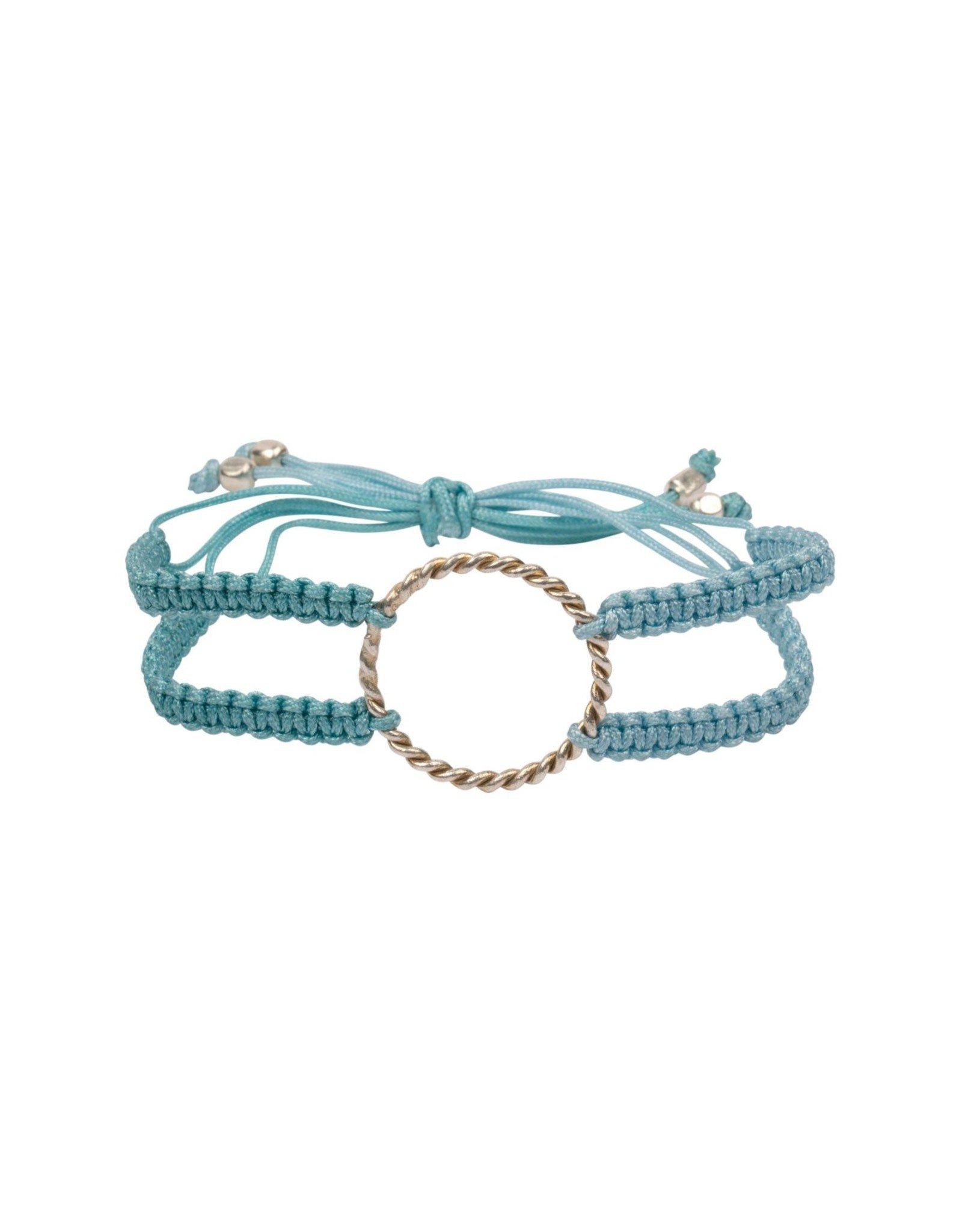 Macrame Bracelet with Ring Friends Forever