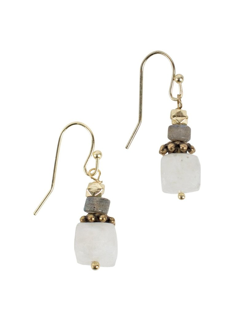 Stacking Stone Earrings