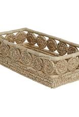 Palm Medallion Bread Basket
