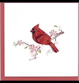 Cardinal Quilling Card, Vietnam