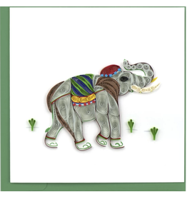 Elephant Quilling Card, Vietnam