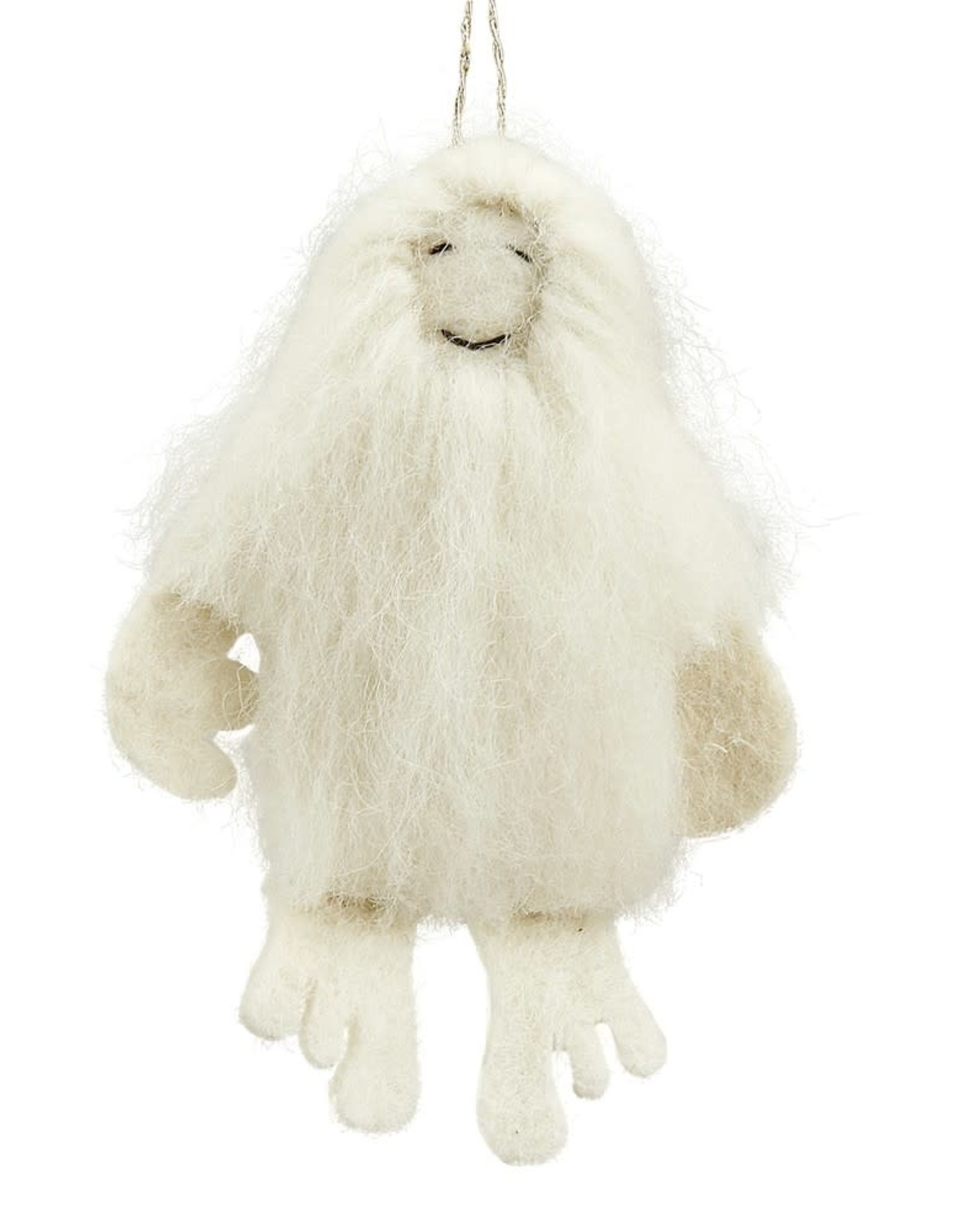 Snow Yeti Ornament