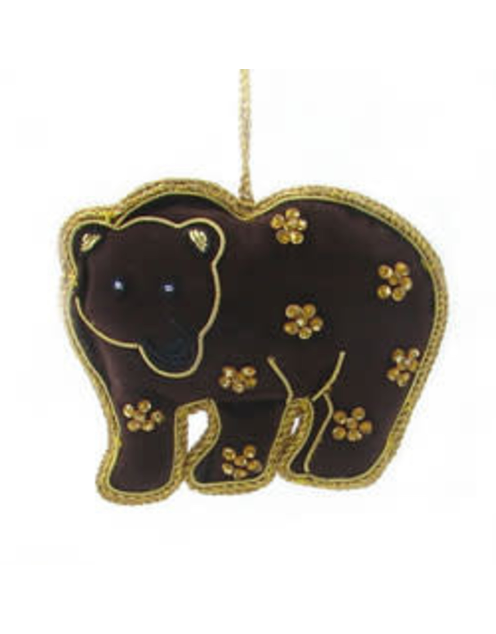 Brown Bear Ornament, India