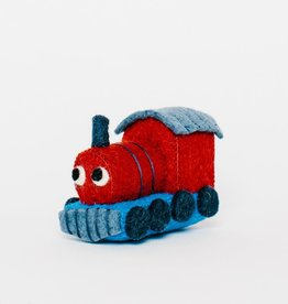 Red Train Ornament