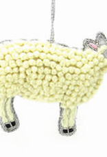 Curly Sheep Ornament