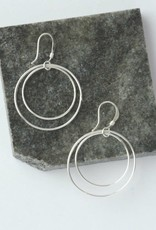 Mexico, Double Moon Earrings