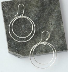 Mexico, Double Moon Earrings