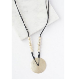 Asko Bullet Casing Necklace, Ethiopia