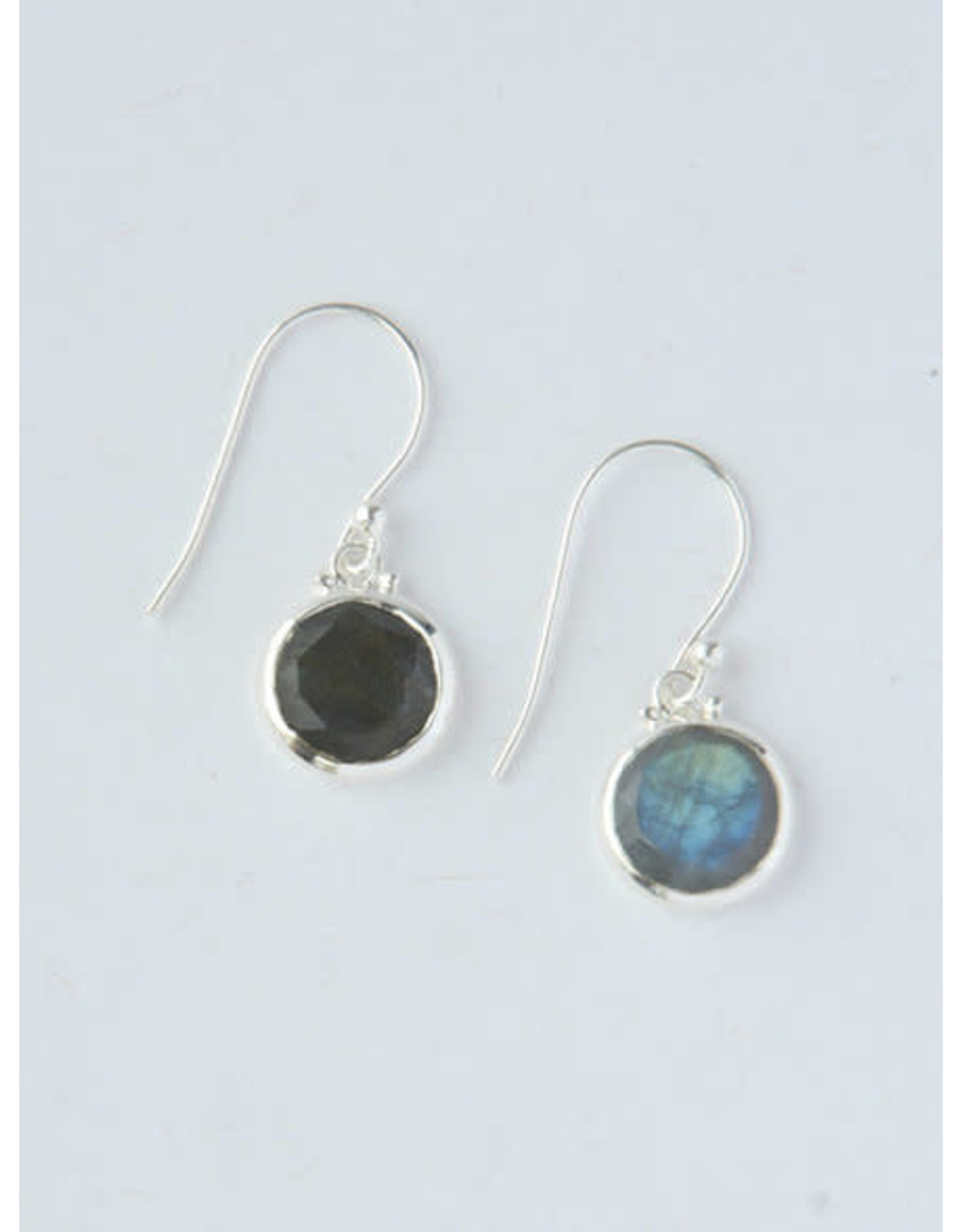 Reflections Laboradite Sterling Earrings