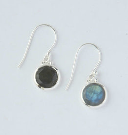 India, Reflections Laboradite Sterling Earrings