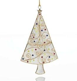 Philippines, Capiz Christmas Tree Ornament