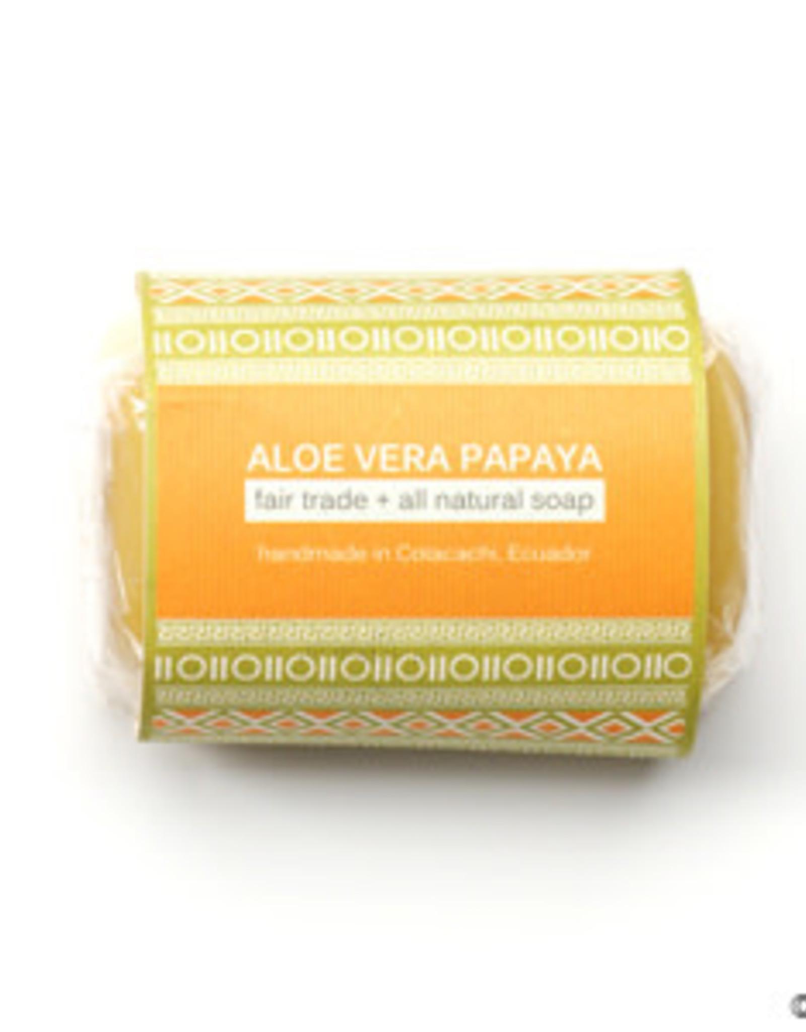 Papaya Aloe Vera Soap, India
