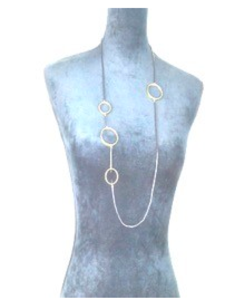 Turkey, Sterling Plated Oval Necklace