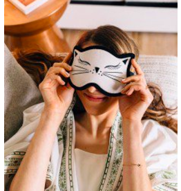 Cat Nap Velvet Sleep Mask, Bangladesh