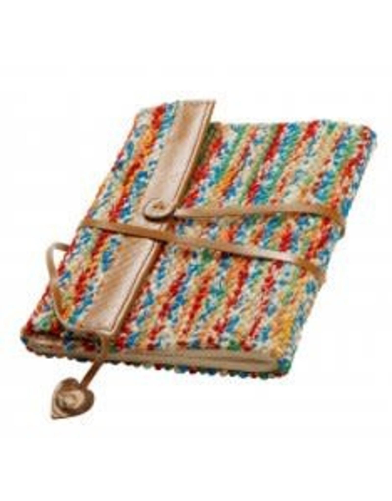 India, Sari and Leather Journal