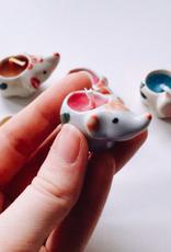 Tiny Elephant Candle